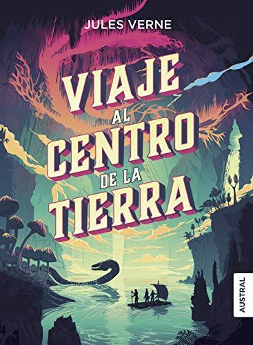 """Portada del Libro """"Viaje al Centro de la Tierra"""""""